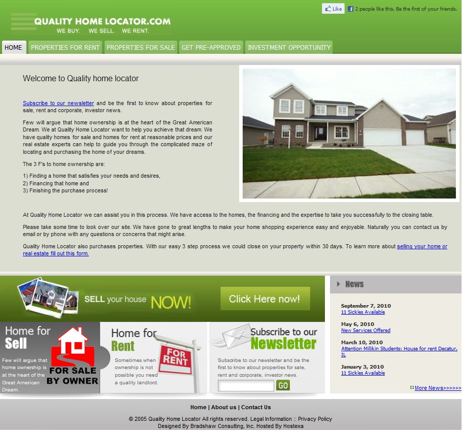 Website For Houses For Rent: Homes For Sale, Homes For Rent In Decatur, IL