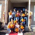 2011 Yearly Pumpkin Carving