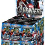 WZK 70410-D Marvel HeroClix: Avengers Movie Counter Top Booster Display