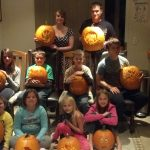 2012 Yearly Pumpkin Carving