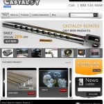 Castaloy website upgrade plus free shipping on orders over $60.00